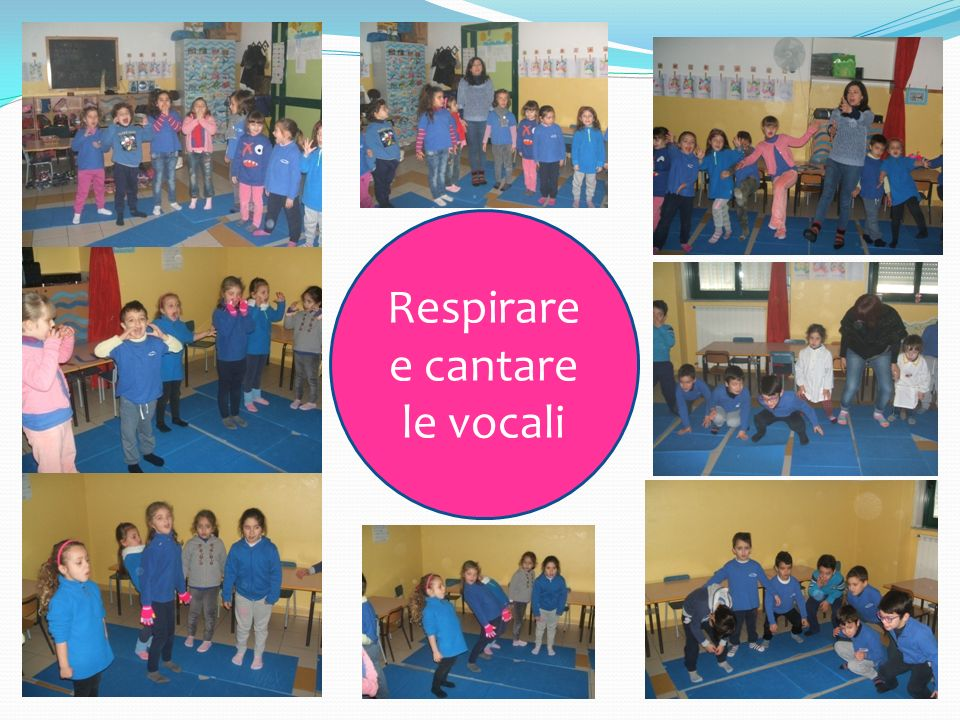 Respirare e cantare le vocali