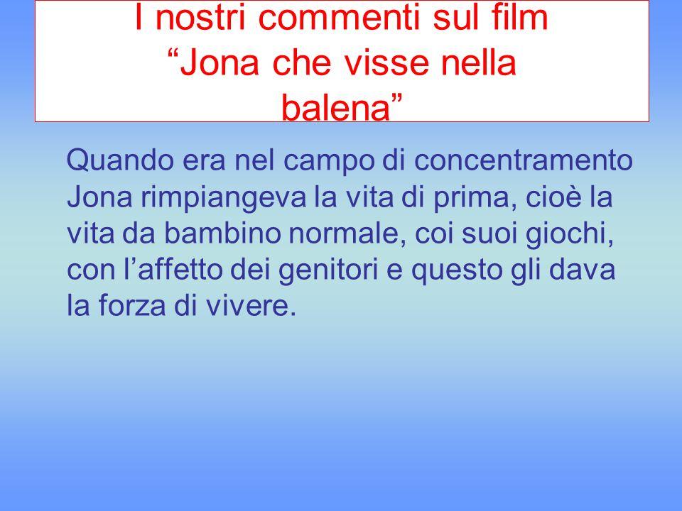 I nostri commenti sul film Jona che visse nella balena