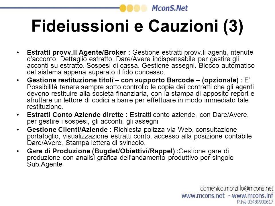 Fideiussioni e Cauzioni (3)