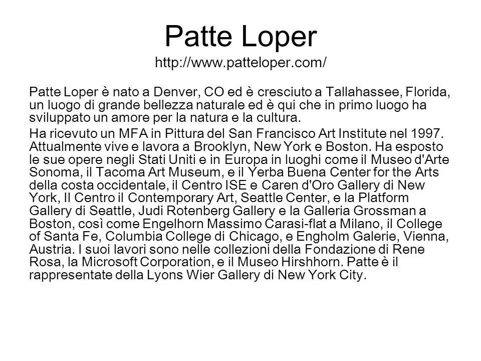 Patte Loper http://www.patteloper.com/