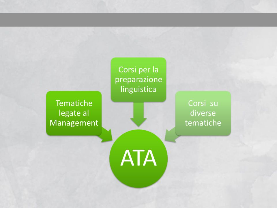 ATA Tematiche legate al Management