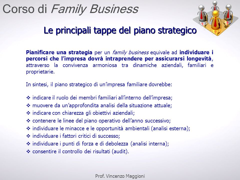Corso di Family Business