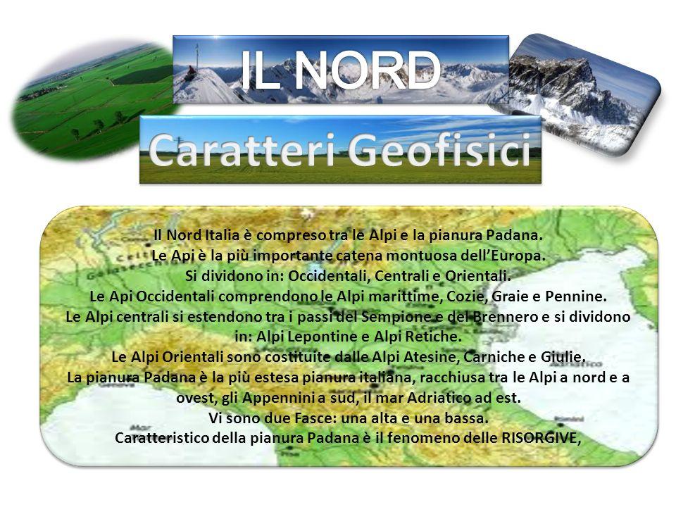 IL NORD Caratteri Geofisici