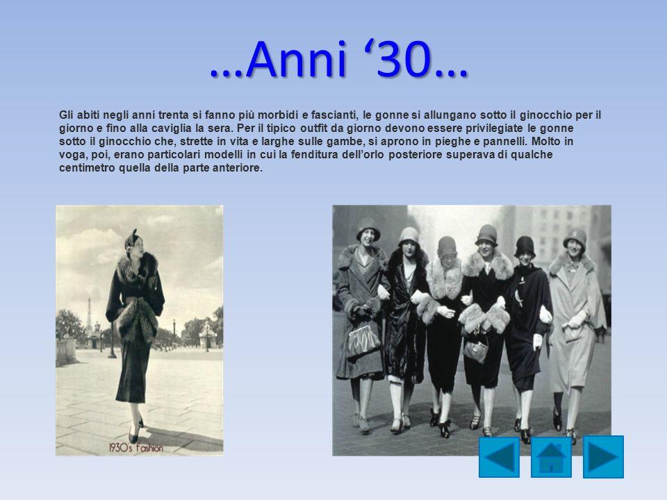 …Anni '30…