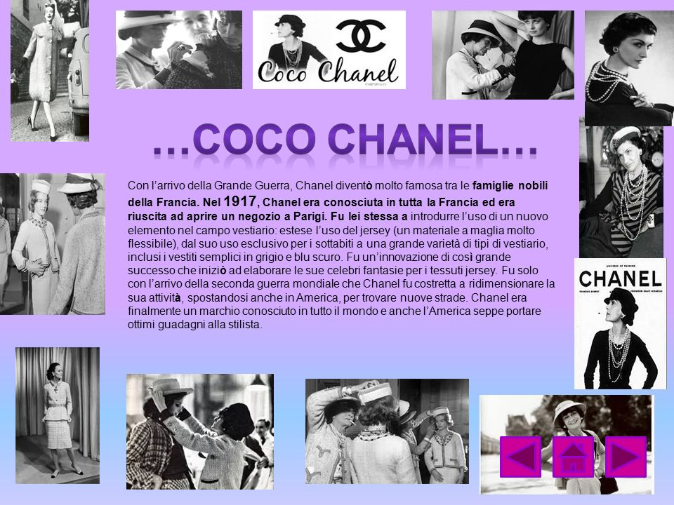 …coco Chanel…