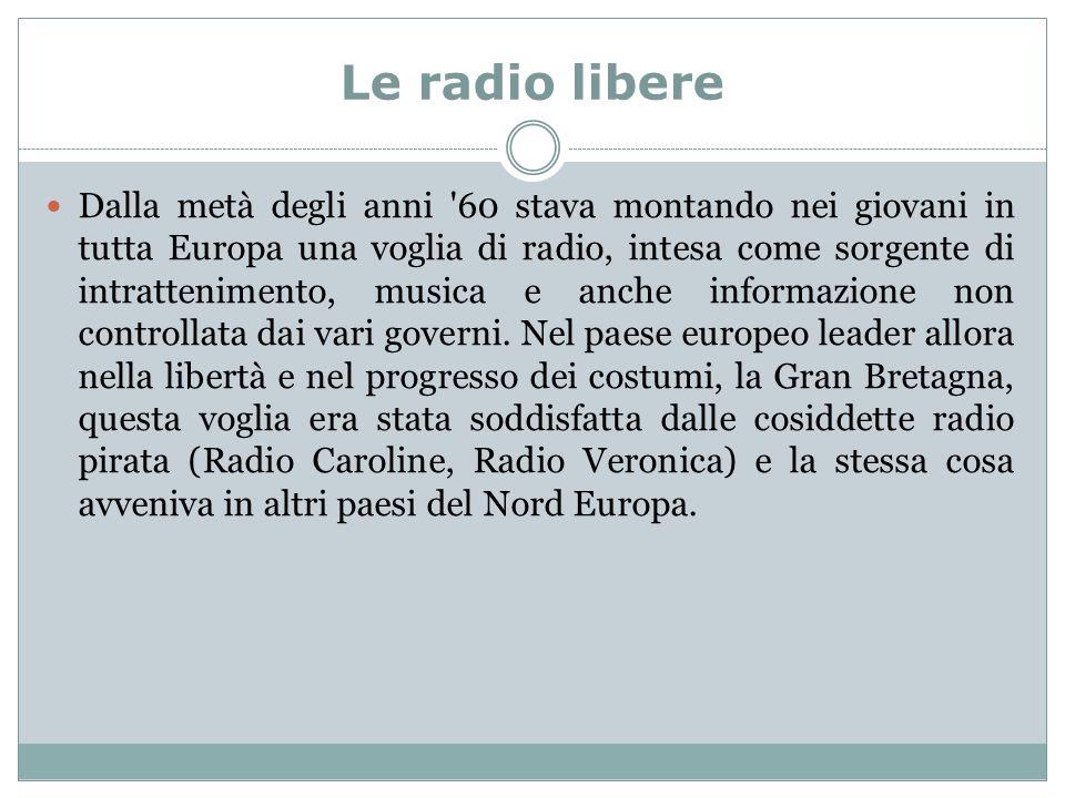 Le radio libere