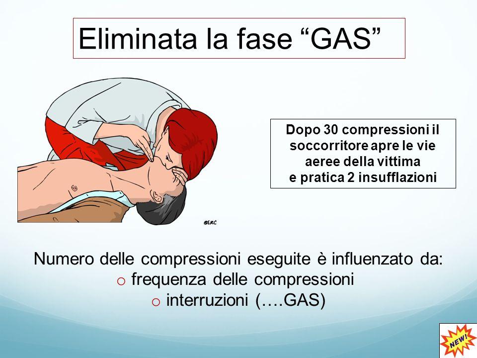 Eliminata la fase GAS
