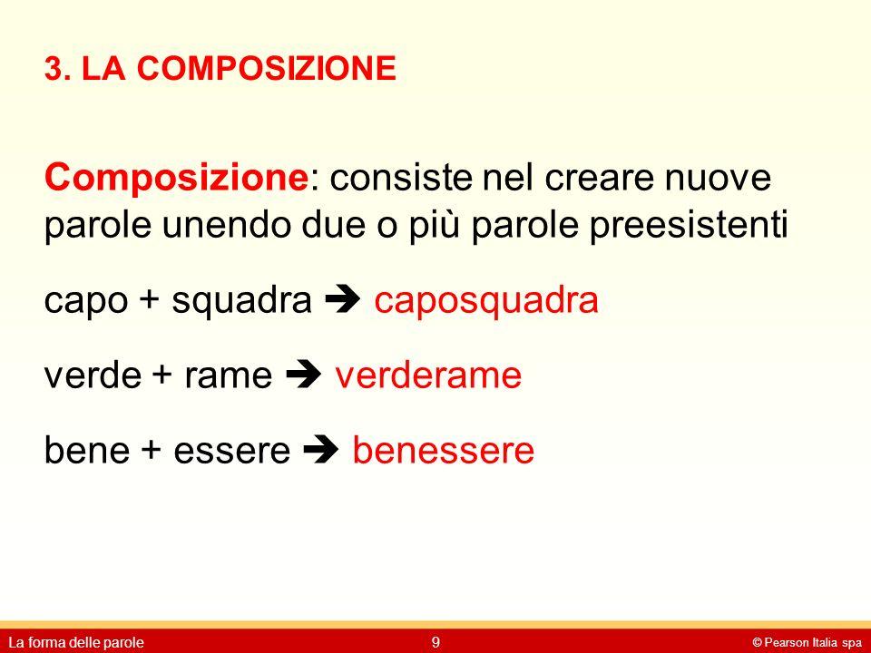 3. LA COMPOSIZIONE