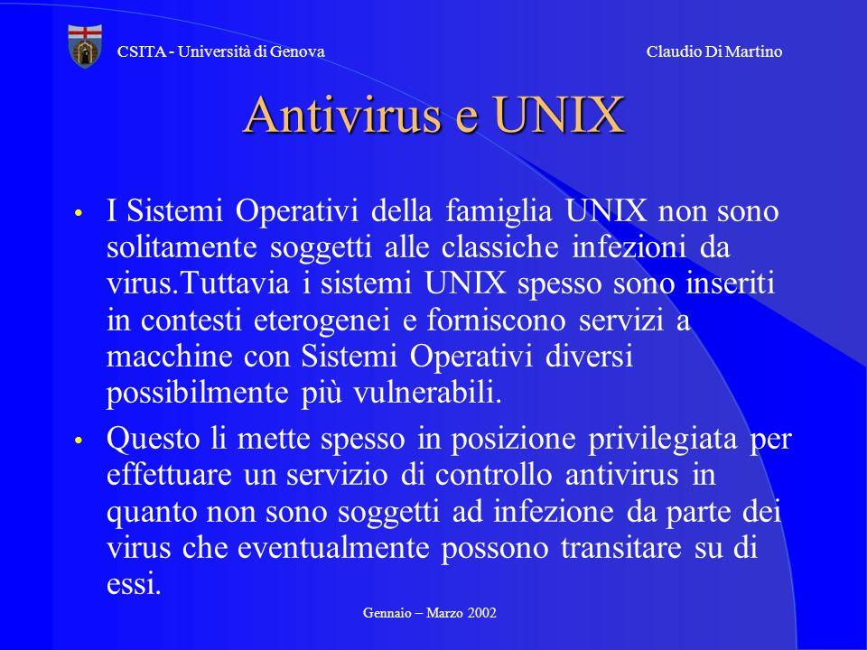Antivirus e UNIX