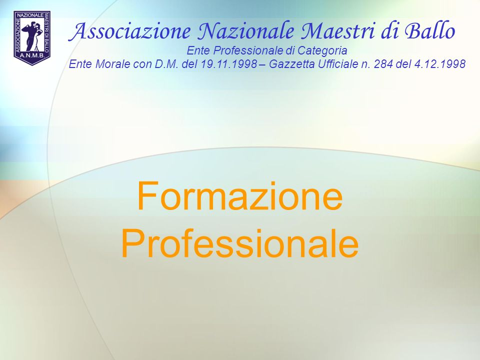 Formazione Professionale