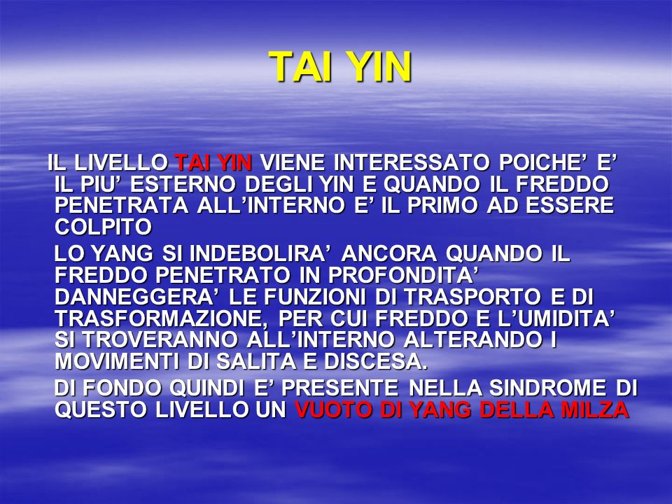TAI YIN