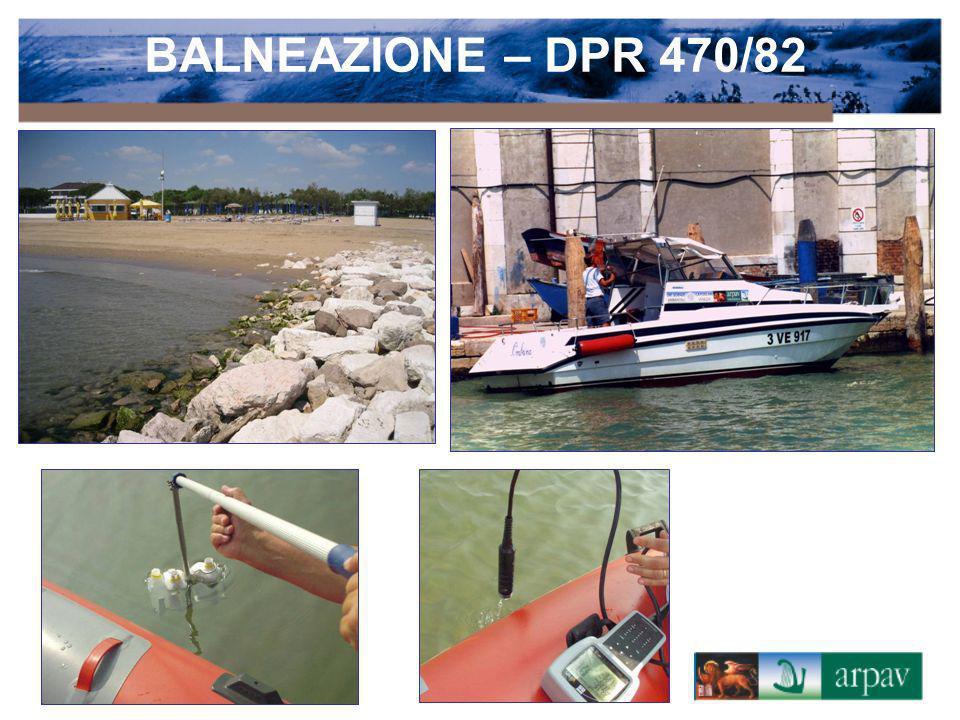 BALNEAZIONE – DPR 470/82