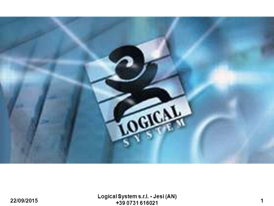 Logical System s.r.l. - Jesi (AN) +39 0731 616021
