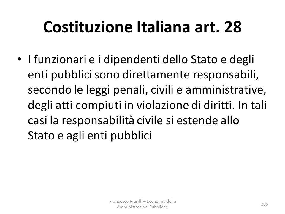 Costituzione Italiana art. 28