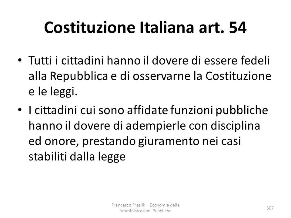 Costituzione Italiana art. 54