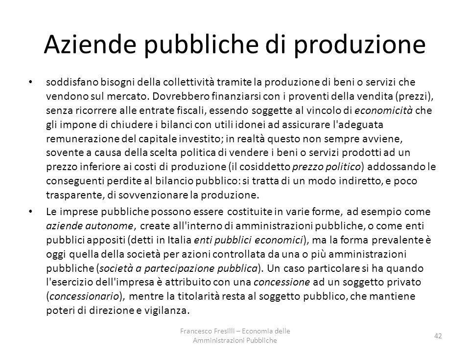 Aziende pubbliche di produzione