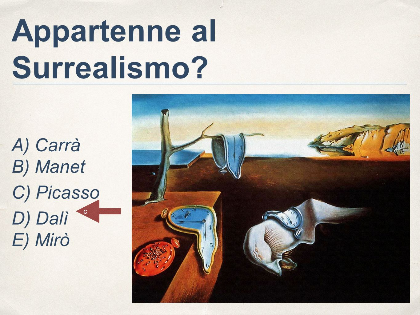 Appartenne al Surrealismo