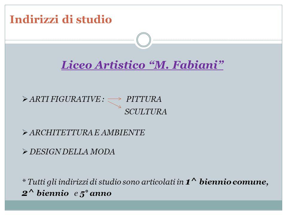 Liceo Artistico M. Fabiani