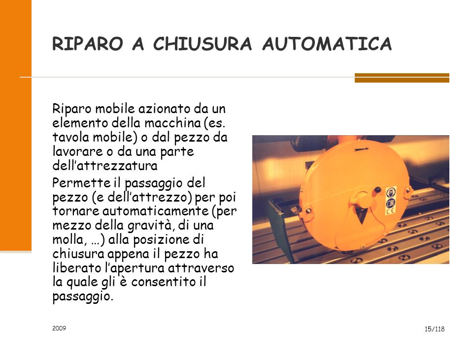 RIPARO A CHIUSURA AUTOMATICA