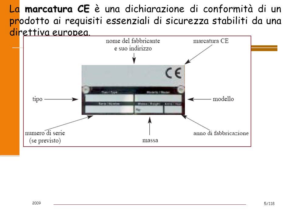 La marcatura CE è una dichiarazione di conformità di un prodotto ai requisiti essenziali di sicurezza stabiliti da una direttiva europea.