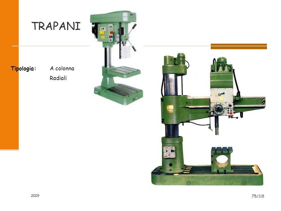 TRAPANI Tipologia: A colonna Radiali 2009