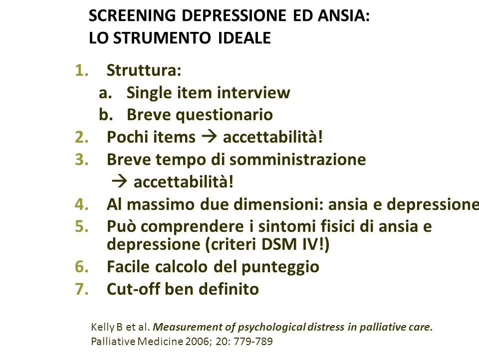 SCREENING DEPRESSIONE ED ANSIA: LO STRUMENTO IDEALE