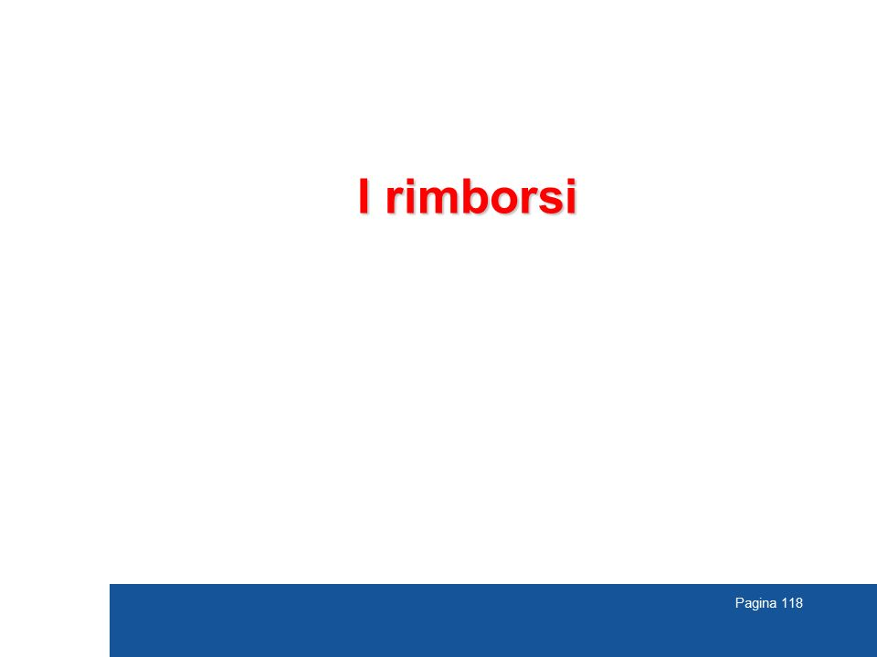 I rimborsi TREVISO 118