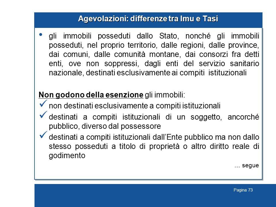Agevolazioni: differenze tra Imu e Tasi