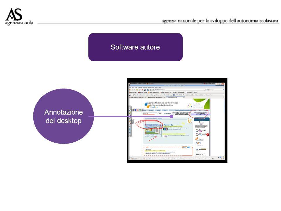 Software autore Annotazione del desktop