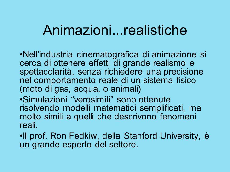 Animazioni...realistiche