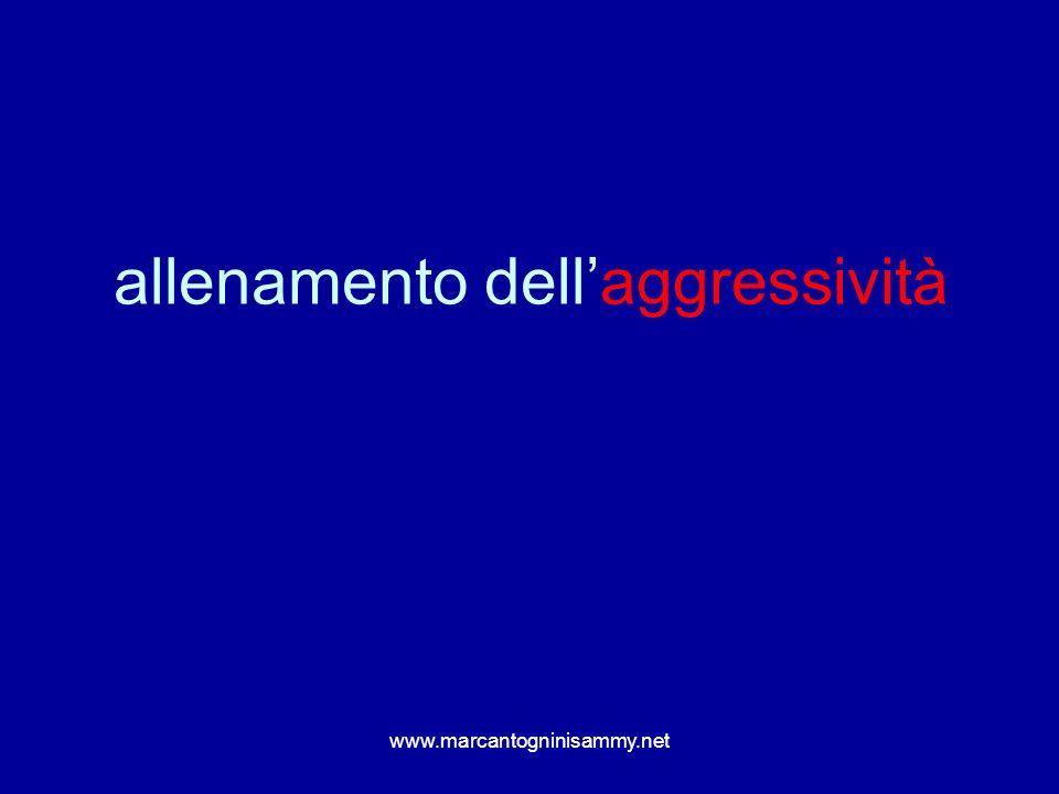 allenamento dell'aggressività