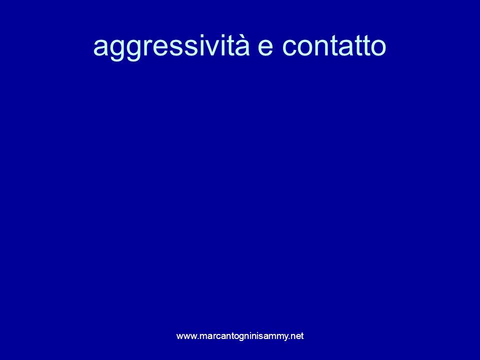 aggressività e contatto
