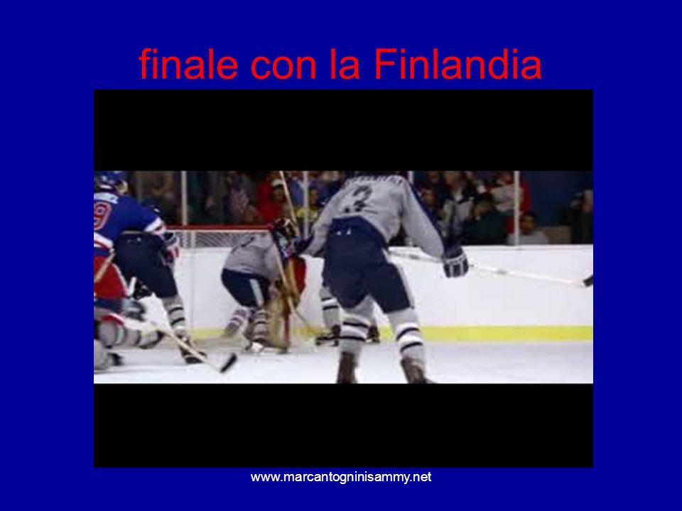finale con la Finlandia