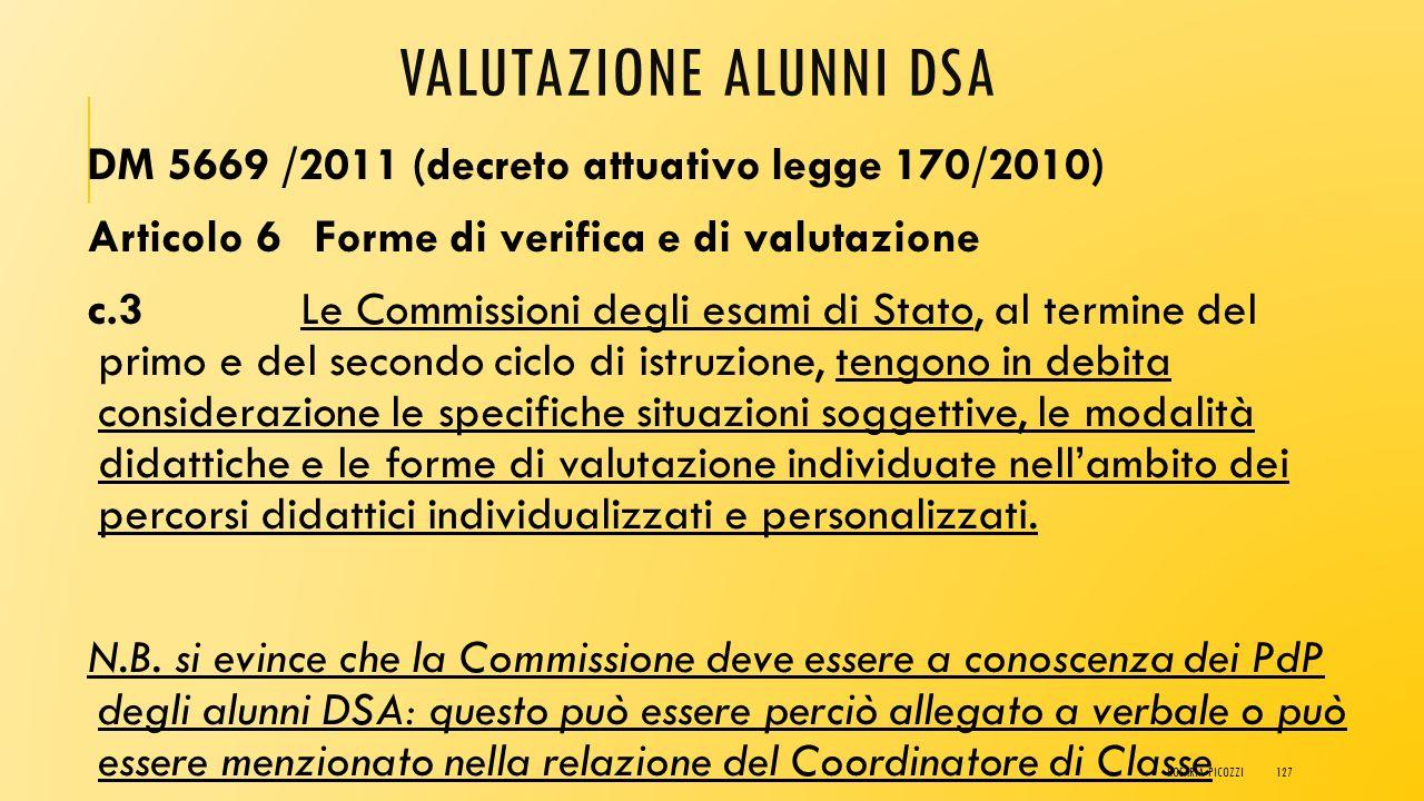 Valutazione alunni DSA