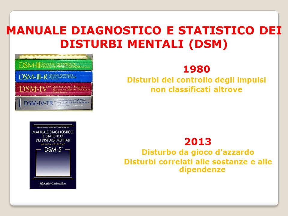 MANUALE DIAGNOSTICO E STATISTICO DEI DISTURBI MENTALI (DSM)