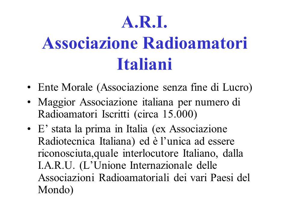 A.R.I. Associazione Radioamatori Italiani