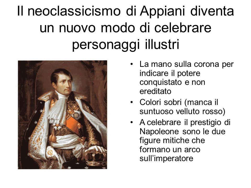 Il neoclassicismo di Appiani diventa un nuovo modo di celebrare personaggi illustri