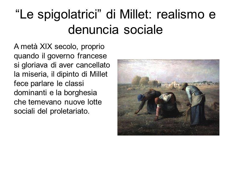 Le spigolatrici di Millet: realismo e denuncia sociale