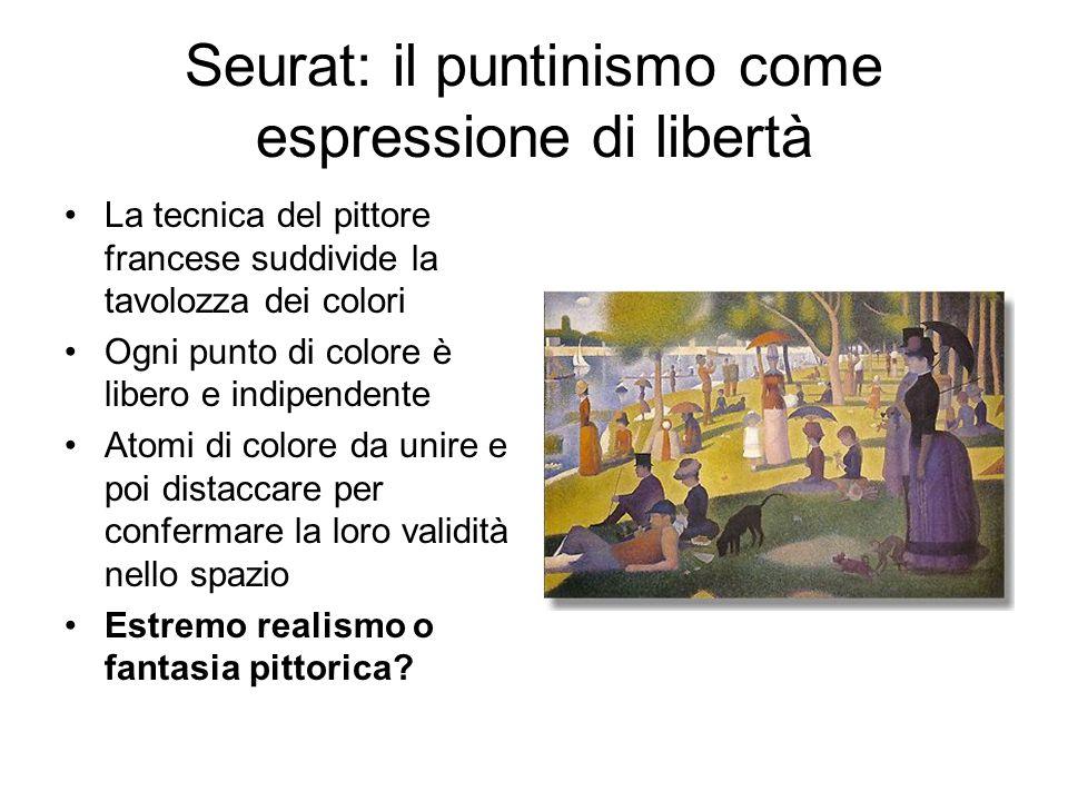 Seurat: il puntinismo come espressione di libertà