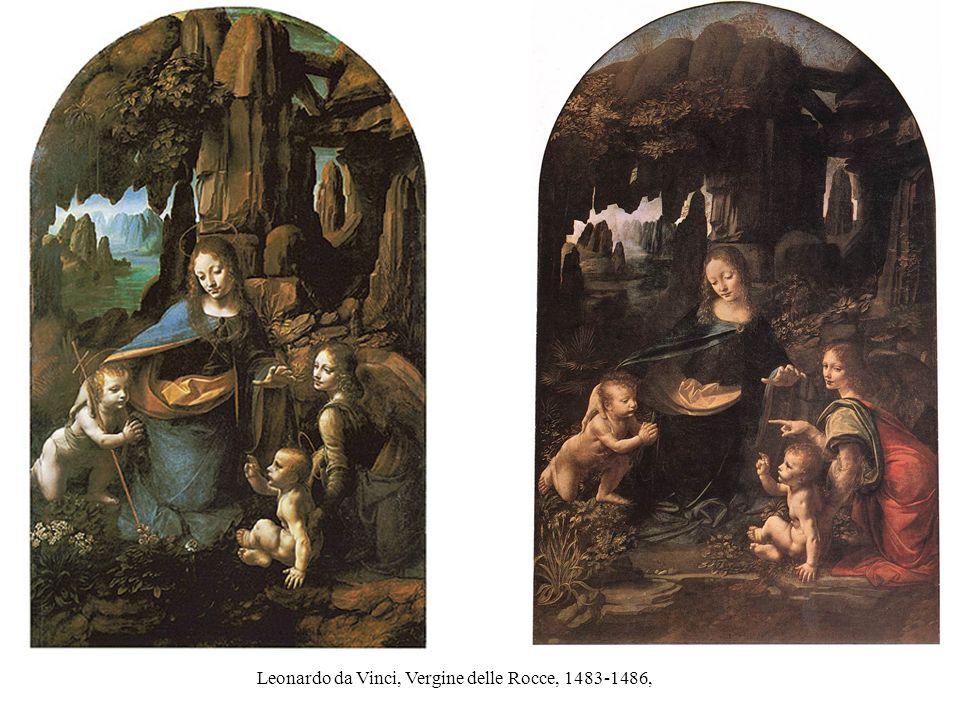 Leonardo da Vinci, Vergine delle Rocce, 1483-1486,