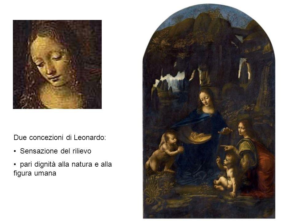 Due concezioni di Leonardo: