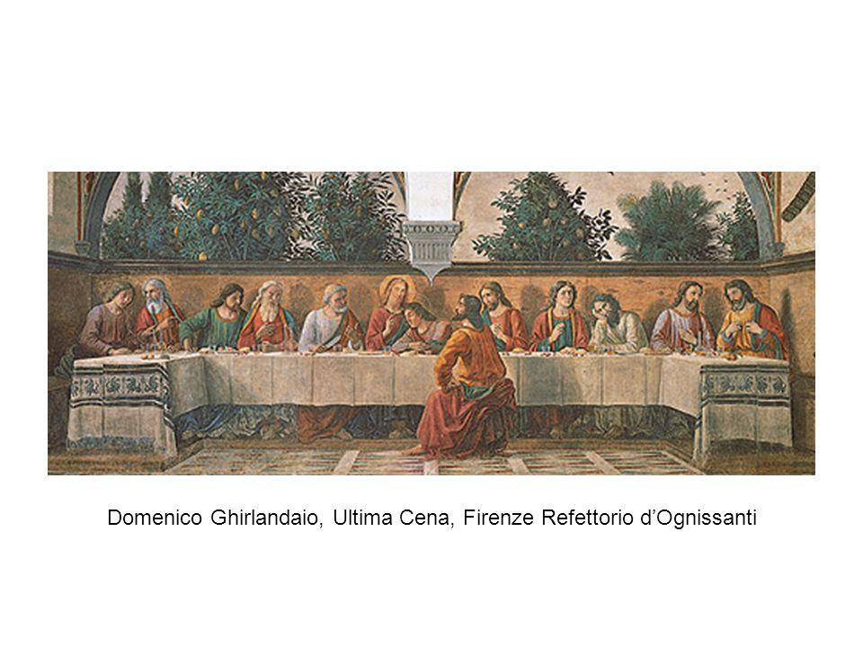 Domenico Ghirlandaio, Ultima Cena, Firenze Refettorio d'Ognissanti