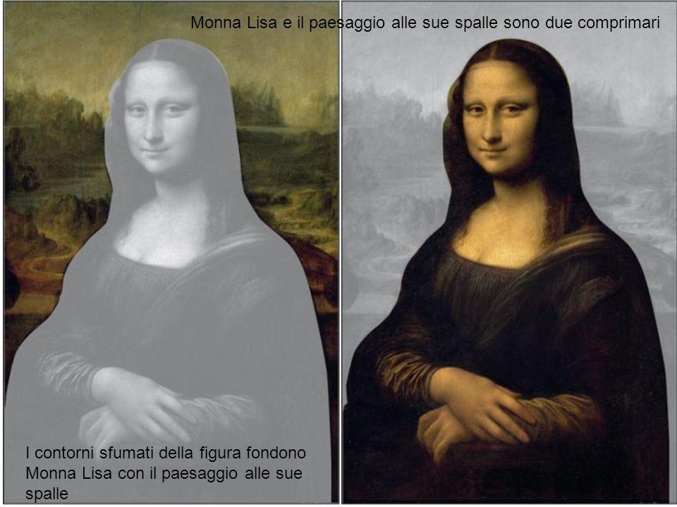Monna Lisa e il paesaggio alle sue spalle sono due comprimari