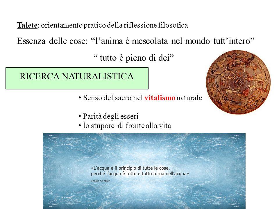 RICERCA NATURALISTICA
