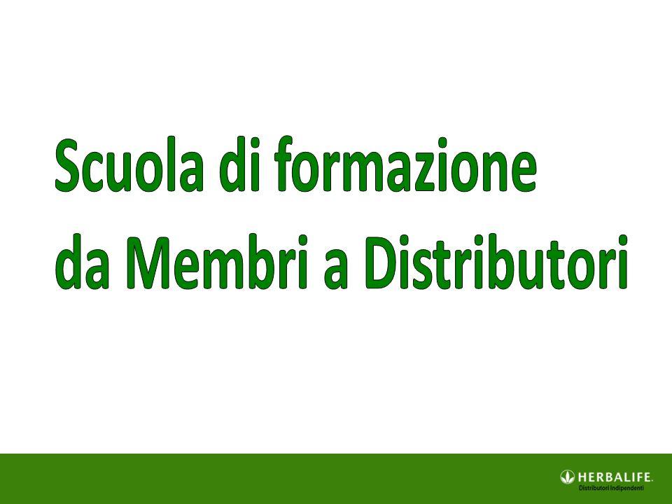 Scuola di formazione da Membri a Distributori