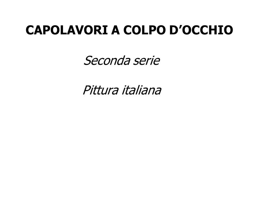 CAPOLAVORI A COLPO D'OCCHIO