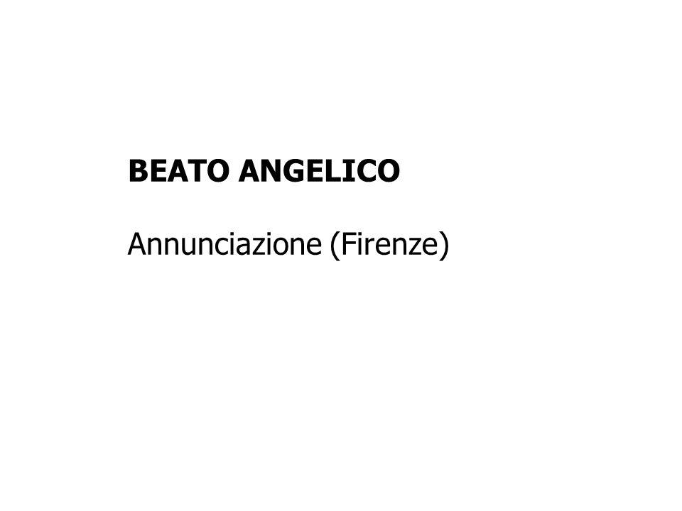 BEATO ANGELICO Annunciazione (Firenze)
