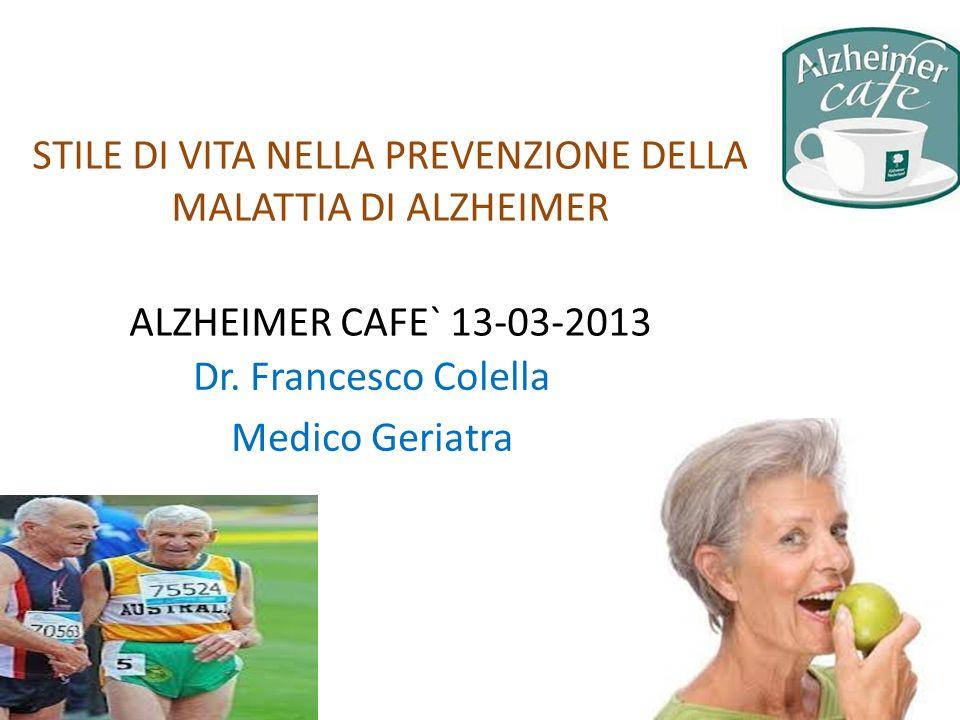 Dr. Francesco Colella Medico Geriatra