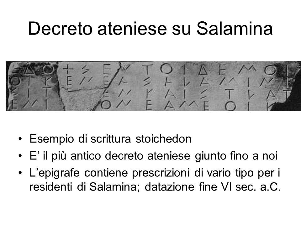Decreto ateniese su Salamina