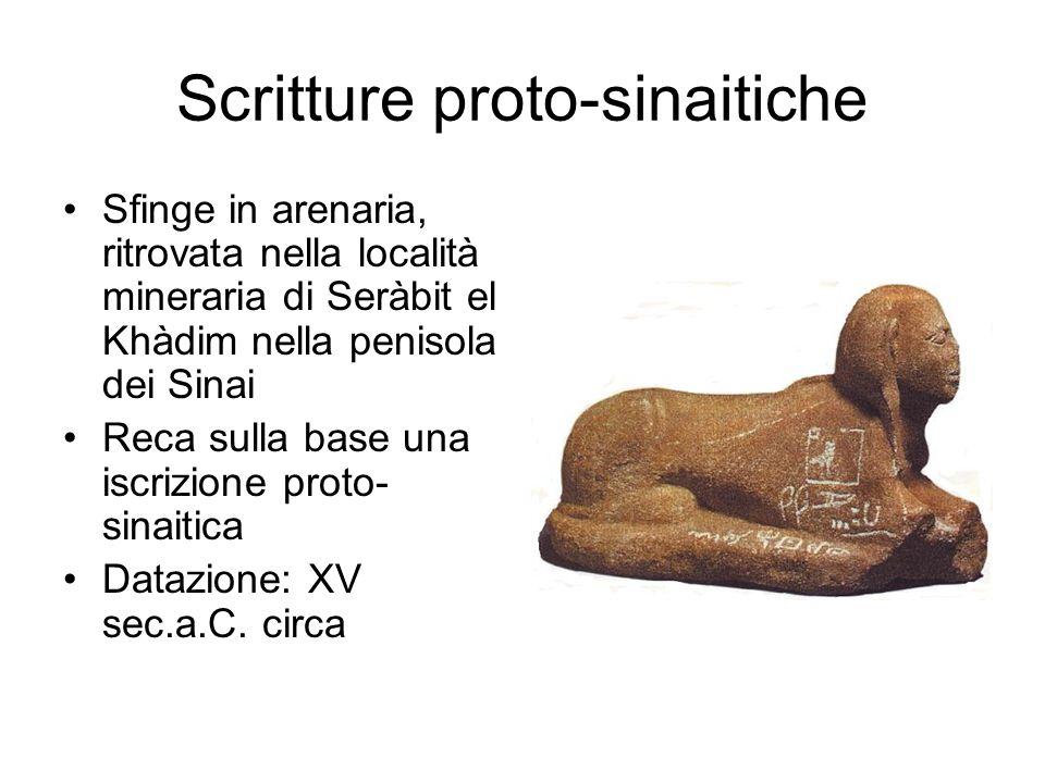 Scritture proto-sinaitiche